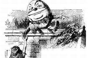 Humpty Dumpty y Alicia