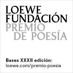 XXXII Premio Internacional de Poesía Fundación Loewe 2019