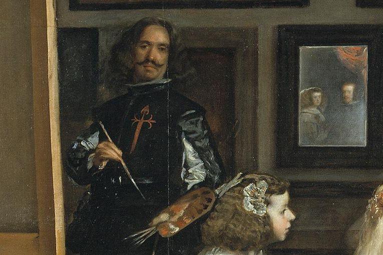 """Fragmento de """"Las meninas"""" (1656), de Diego Velázquez"""