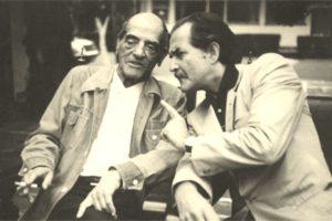 Luis Buñuel y Carlos Fuentes