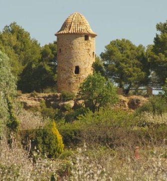 La Torre del Molino, por Vicente Adelantado Soriano