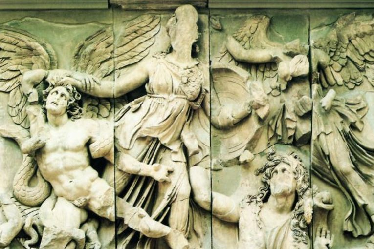 Atenea contra Alcioneo