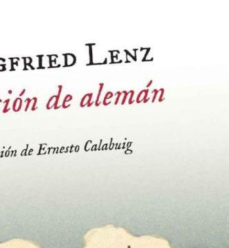 """""""Lección de alemán"""", de Siegfried Lenz"""