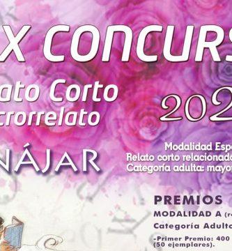 """XIX Concurso de Relato Corto y Microrrelatos """"Villa de Iznájar"""""""