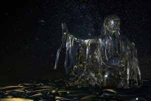 La doncella de cristal, por Estrella Cardona Gamio