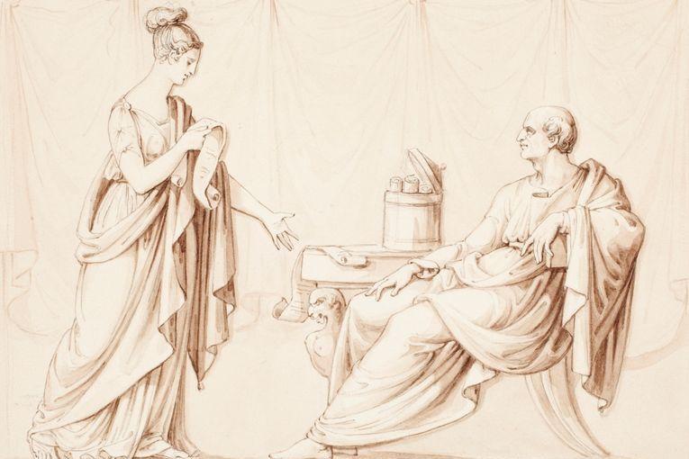 Cicerón y Tulia