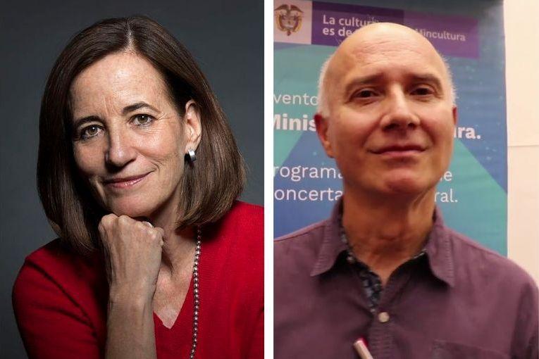 Mónica Lavín y Octavio Escobar