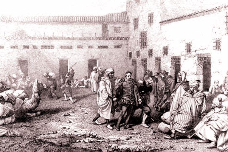 Miguel de Cervantes cautivo en Argel