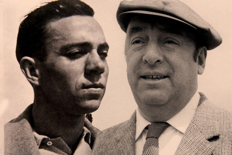 Miguel Hernández y Pablo Neruda