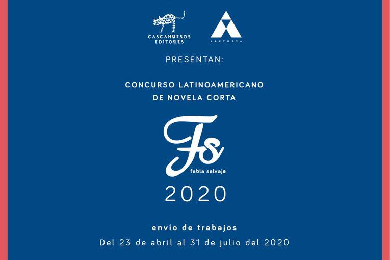 "Concurso Latinoamericano de Novela Corta ""Fabla Salvaje"" 2020"
