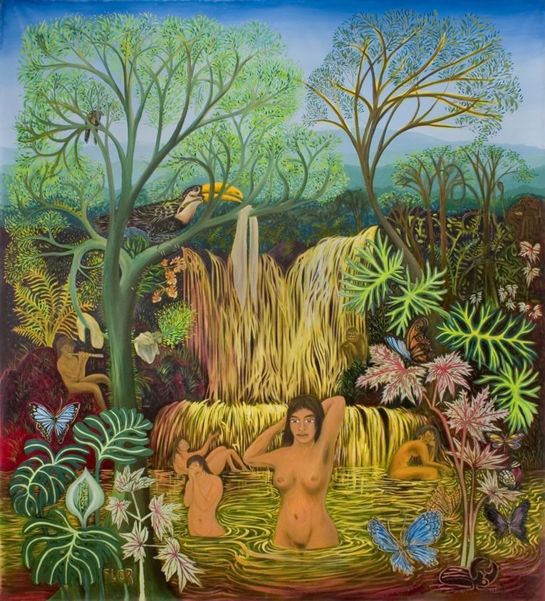 """""""Bañistas"""" (2004), de Florencia Bohtlingk"""