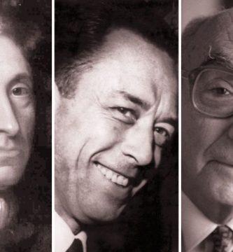 Daniel Defoe, Albert Camus y José Saramago