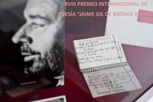 "XVIII Premio Poético Internacional ""Jaime Gil de Biedma y Alba"""