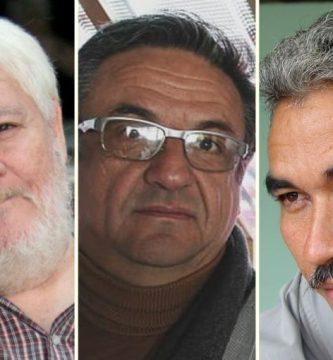 Armando Rojas Guardia, Golcar Rojas y Néstor Rojas