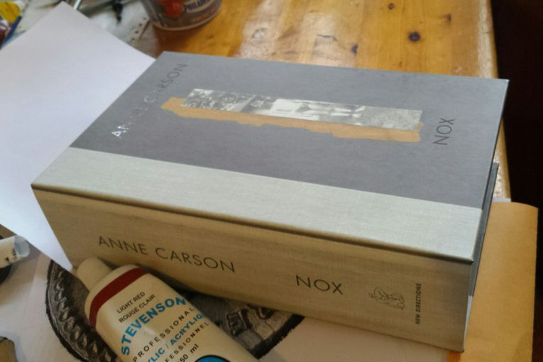 """Nox"", de Anne Carson"