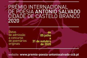 Premio Internacional de Poesía António Salvado Ciudad de Castelo Branco 2020