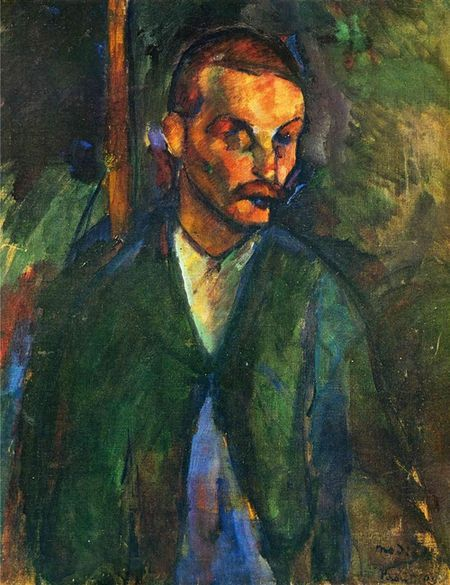 """El mendigo de Livorno"" (1909), de Amedeo Modigliani"