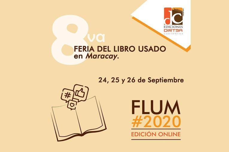 8ª Feria del Libro Usado en Maracay #FLUM2020