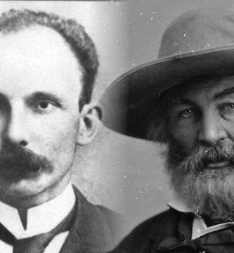 José Martí y Walt Whitman