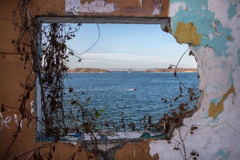 Una de sus ventanas hacia el mar