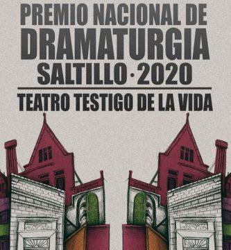 Premio Nacional de Dramaturgia Saltillo 2020