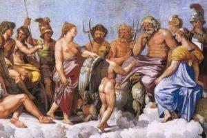 Julia y los dioses, por Vicente Adelantado Soriano