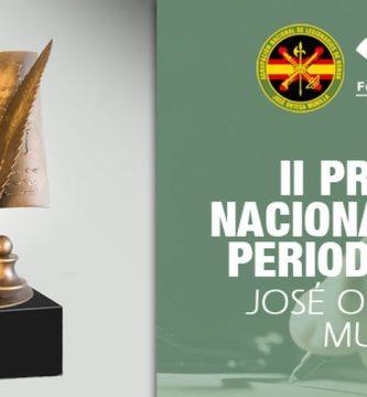 "II Premio Nacional de Periodismo ""José Ortega Munilla"""