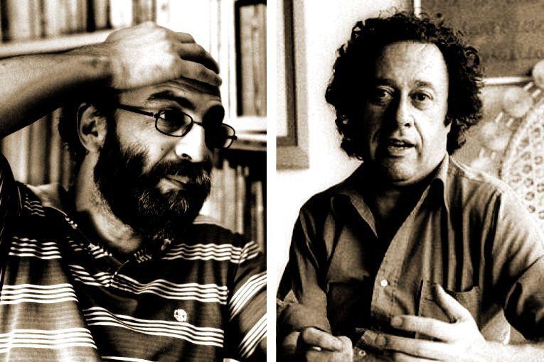 Héctor Libertella y Enrique Lihn