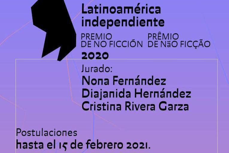 Premio de no ficción: Latinoamérica Independiente