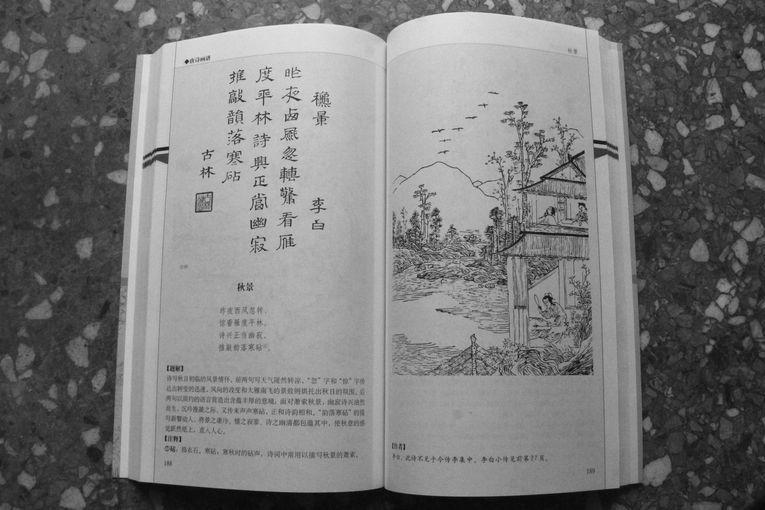Paisaje de otoño, por Li Bai