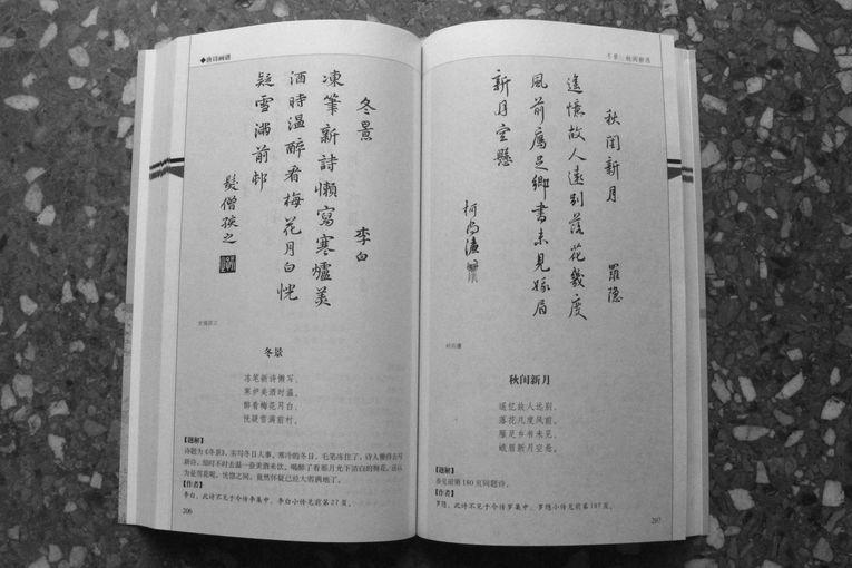 Paisaje de invierno, por Li Bai