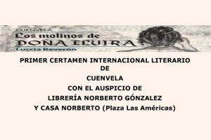 Primer Certamen Internacional Literario de Cuenvela