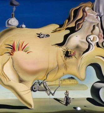 """""""El gran masturbador"""" (1929), de Salvador Dalí"""