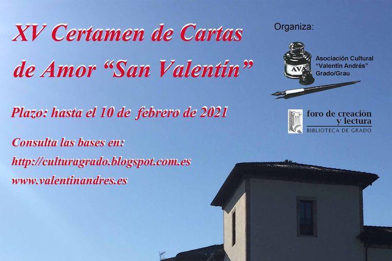XV Certamen Literario de Cartas de Amor San Valentín