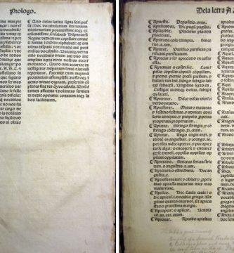 Diccionario de Alfonso de Palencia (1492 o 1493)