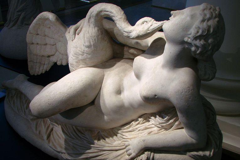 """""""Leda y el cisne"""", de Auguste Clésinger"""