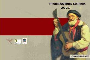 Premios Literarios de Bertso, Narrativa y Poesía Iparragirre Saria 2021