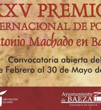 """XXV Premio Internacional de Poesía """"Antonio Machado en Baeza"""""""