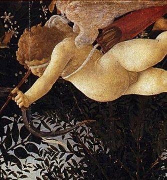 Cupido según Sandro Botticelli