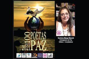 """""""100 poetas por la paz"""", antología coordinada por Verónica Bianchi"""