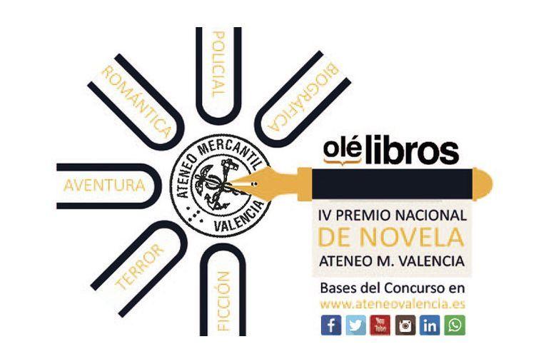 """IV Premio Nacional de Novela """"Ateneo Mercantil de Valencia"""""""