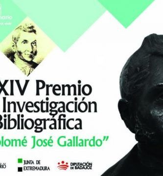 """XXIV Premio """"Bartolomé José Gallardo"""" de Investigación Bibliográfica"""