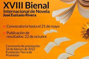 XVIII Bienal Internacional de Novela José Eustasio Rivera 2021