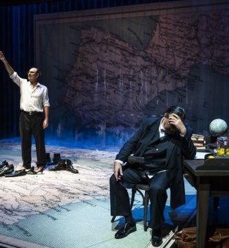 """""""Los hermanos Machado"""", obra de Teatro del Temple"""
