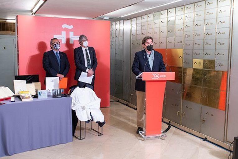Legado de Luis Rosales en el Instituto Cervantes
