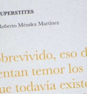 """Supérstites"", de Roberto Méndez Martínez"