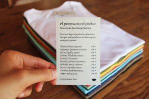 """Antología """"El poema en el pecho"""", de La Hoja Poesía Viva"""