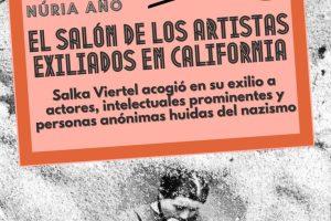 """""""El salón de los artistas exiliados en California"""", de Núria Añó"""