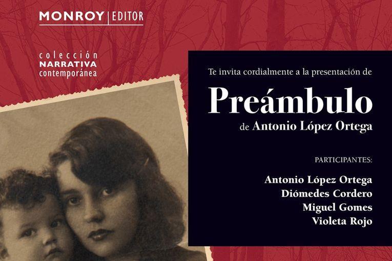"""Presentación de """"Preámbulo"""", de Antonio López Ortega"""