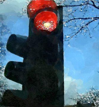 El semáforo (la muerte de un vecino), por Vicente Adelantado Soriano